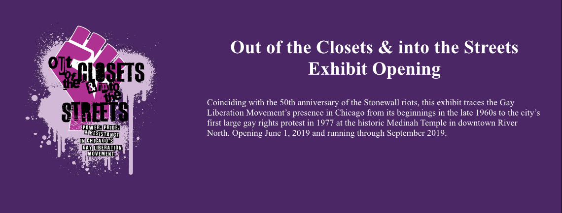 Out of the Closets Opening